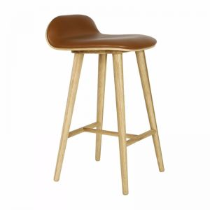 Capa Leather Bar Stool