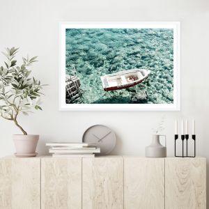 Capri Boat I Photo Art Print (Various Sizes)