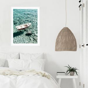 Capri Boat II Photo Art Print (Various Sizes)