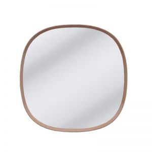 Carlsen Shaped Mirror | Natural Oak