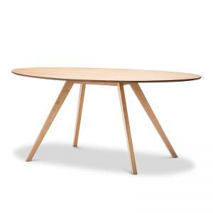 Carol Oval Dining Table   Natural Oak   PRE-ORDER