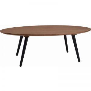 Carsyn Oval Coffee Table | Cocoa | Modern Furniture