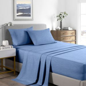 Casa Decor Bamboo Cooling 2000TC Sheet Set | Queen | Various Colours