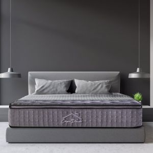 Casa Decor Bamboo  Pocket Spring Mattress | 5 Zone | Charcoal
