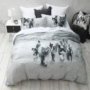 Cat Mob Quilt Cover Set | CLU Living