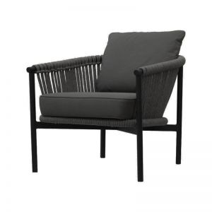 Catalan Lounge Chair Black or White | by SATARA