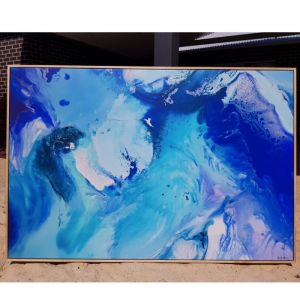 Catseye Beach Aerial | Limited Edition Canvas Print By Nicky Kriss