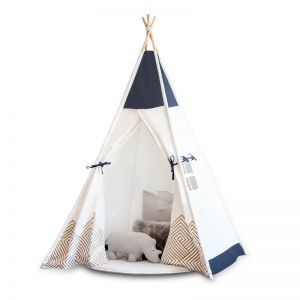 Cattywampus Kids Teepee Tent | Navy