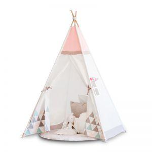 Cattywampus Kids Teepee Tent | Pink