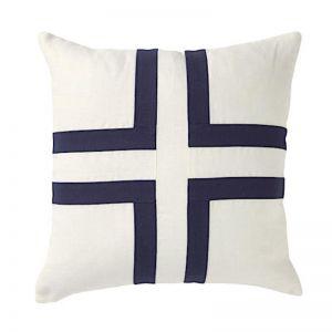 Cayman Cross Square Linen Cushion   CLU Living