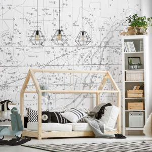 Celestial Star Map | White | Wallpaper
