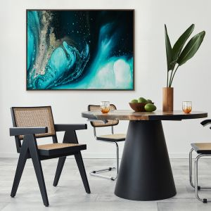Celestial Waters   Canvas Print