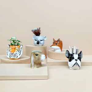 Ceramic Planter | Bundle Pack | White Moose