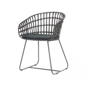 Cesta Dining Arm Chair | with Cushion by SATARA