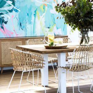 Cesta Dining Chair | with  Cushion by SATARA