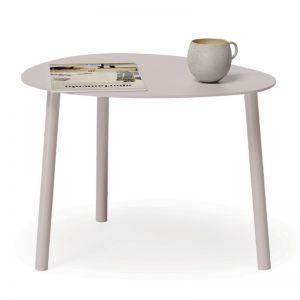 Cetara Outdoor Side Table | Matt Pale Blush