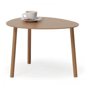Cetara Outdoor Side Table | Matt Terracotta