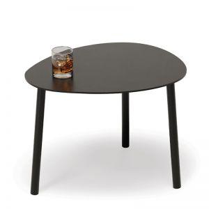 Cetara Outdoor Side Table | Matte Black