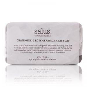 Chamomile & Rose Geranium Clay Soap