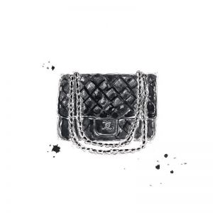 Chanel Bag | Limited Edition Unframed Print