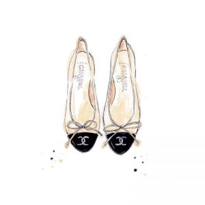Chanel Ballets | Limited Edition Unframed Print