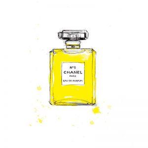 Chanel No5 Greeting Card
