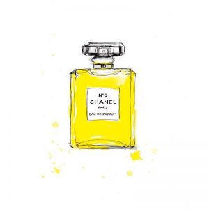 Chanel No5 | Limited Edition Unframed Print|