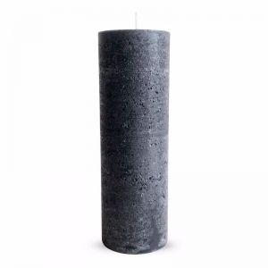 Charcoal Textured Candle | Large | Candle Kiosk