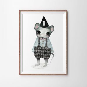 Charlie The Dibbler   Art Print   by Violet Eyes