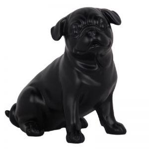 Charlie The Sitting Pug Sculpture | CLU Living