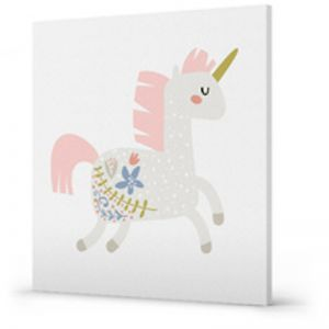 Charlie Unicorn Canvas Print
