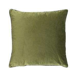 Chartreuse Green Oversize Velvet Cushion