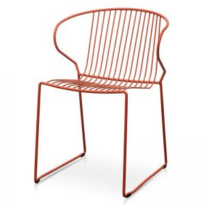 Chayton Dining Chair | Orange | Interior Secrets