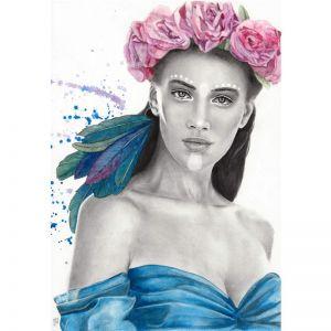 Chenoa's Sister by Kati Garrett Filho   Original Artwork   Art Lovers Australia
