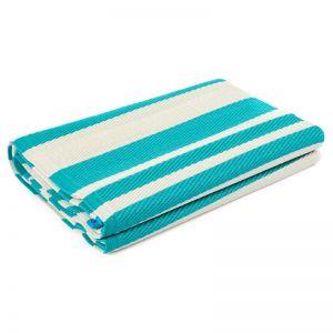 Cherai Aqua Foldable Recycled Plastic Mat | 180x180 cm | Fab Habitat