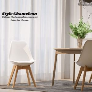 Cherry Iconic Mid-Century Design Dining Chair | Set of 2