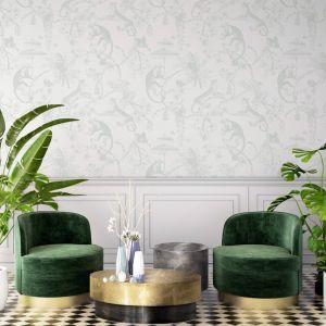 Chinoiserie | Light Sage | Wallpaper