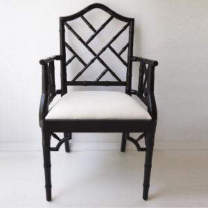 Chippendale Armchair | Black
