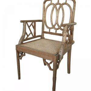 Chippendale Armchair | Weathered Oak