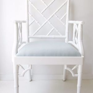 Chippendale Armchair | White