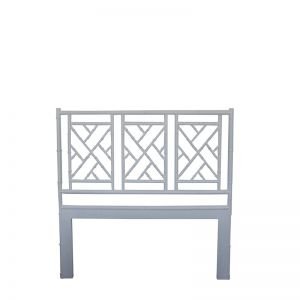 Chippendale Bedhead | King Size | White