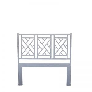 Chippendale Bedhead   King Size   White