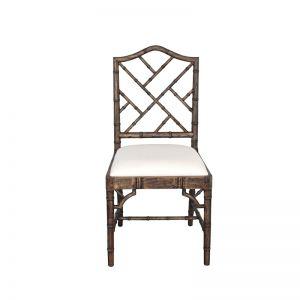 Chippendale Dining Chair | Dark Oak