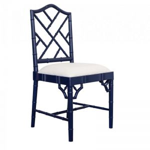 Chippendale Dining Chair | Navy