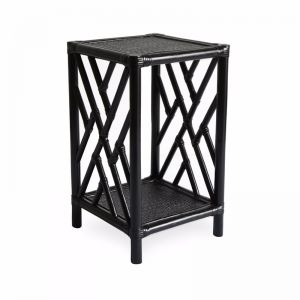 Chippendale Side Table | Black | by Black Mango