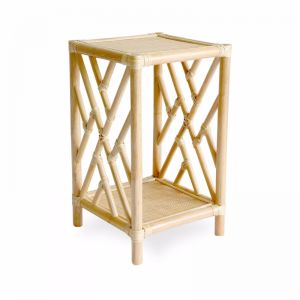 Chippendale Side Table | Natural | by Black Mango