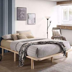 Chloe Platform Bed Base | Double | Pre-Order by June Arrival 2021