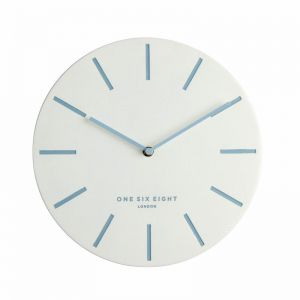 Chloe Silent Wall Clock | 30cm | White