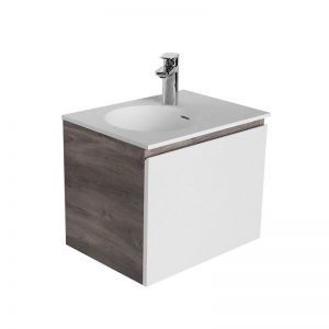 Cibo Habitat 500mm Wall Hung Vanity Unit 1 Door