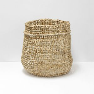 Cicely Tall Woven Basket |  Large by Aura Home